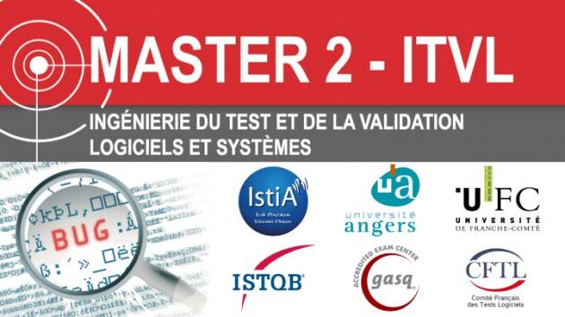 Master 2 ITVL : 1er master diplômant et certifiant en Qualité et Test Logiciel
