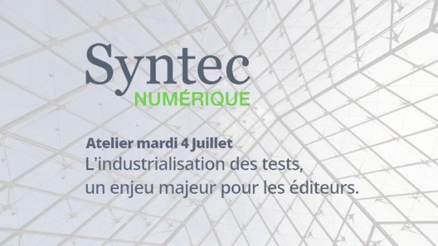 4 Juillet | Atelier SYNTEC Numérique